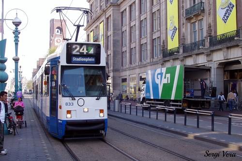 Tranvía Amsterdam. Septiembre 2006