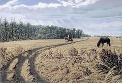 A Prairie road / Une route des Prairies