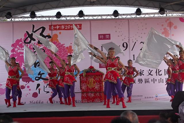20140927,東中第45屆302舞蹈班參加臺中市好客嘉年華踩街 - 22