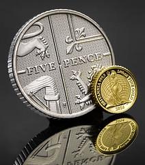 Britannia 2014 Fortieth Ounce Gold coin