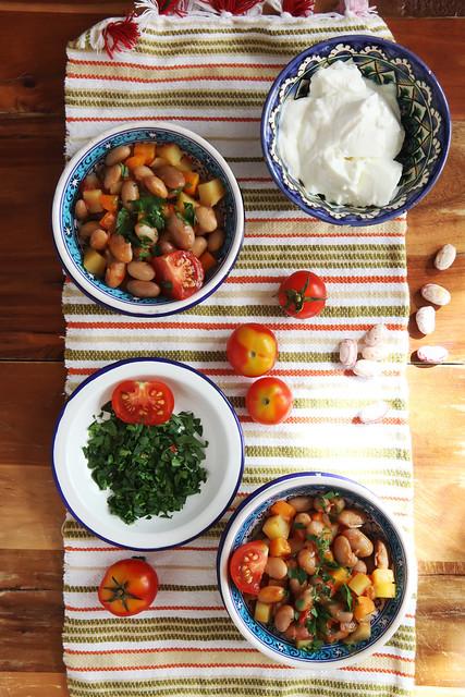 Fresh Borlotti Beans Stew by Olga Irez of Delicious Istanbul