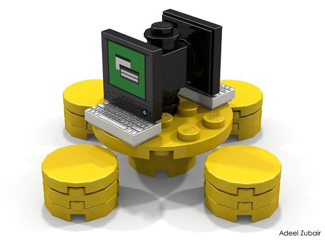 LEGO Modular Building - LEGO Brand Store - Mini Master Builder Bar