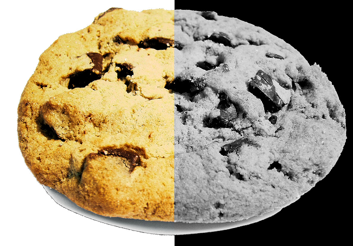 All cookies have a dark side, and no, it's not the chocolate.