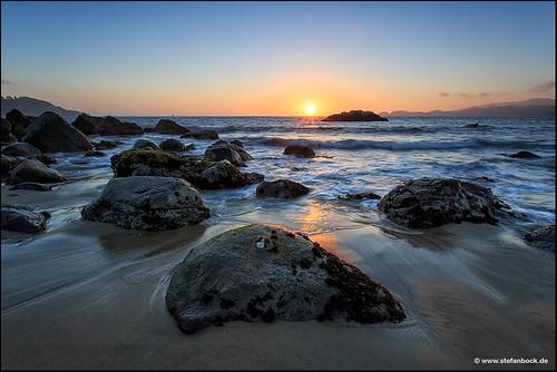 sanfrancisco sunset sea sky beach nature water landscape rocks meer wasser sonnenuntergang natur himmel marshall landschaft felsen