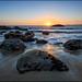 Sunset Marshall Beach San Francisco by Stefan Bock