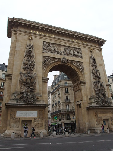 Porte Saint-Denis @ Paris