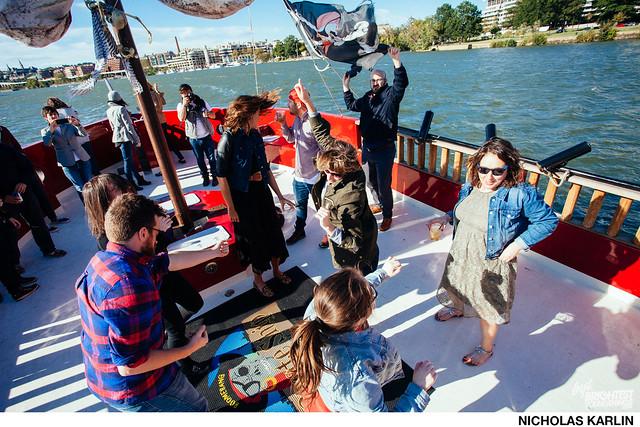 Pirate Ship Booze Cruise Pre Party