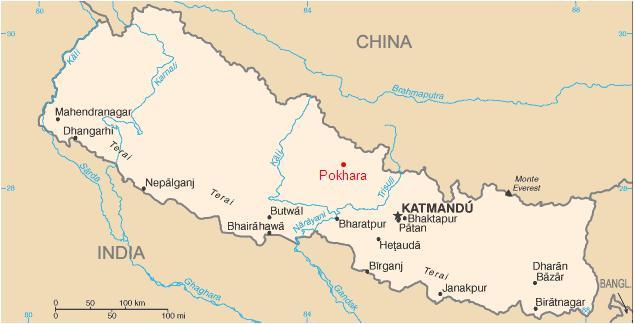 pokhara map