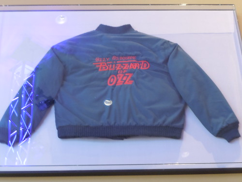 10/03/14 Hard Rock Cafe @ Mall of America, Bloomington, MN (Ozzy Osbourne Tour Jacket)