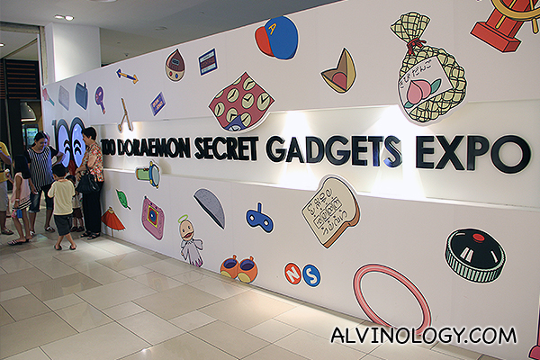 The 100 Doraemon Secret Gadgets Expo at Johor Bahru City Square