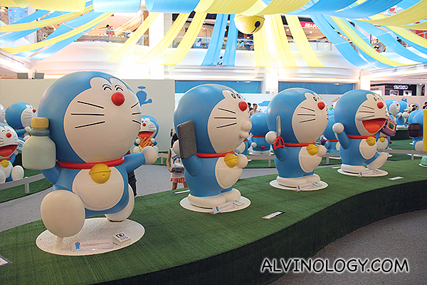 Doraemon everywhere!