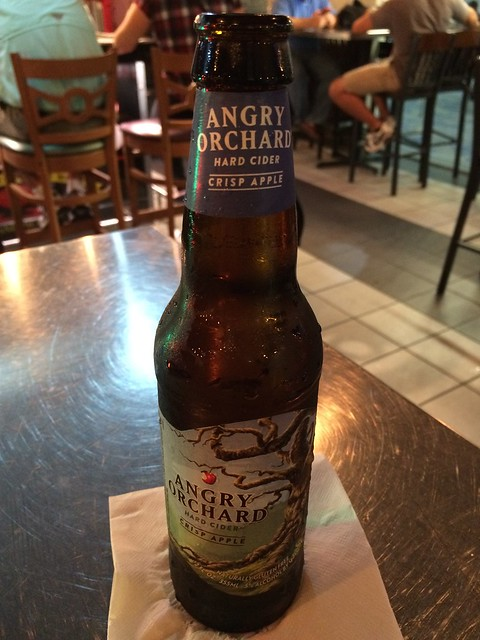 Angry Orchard cider - Phillips Famous Seafood