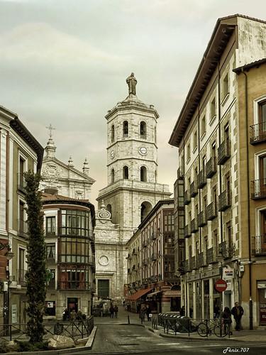 Catedral Valladolid - Calle Casco Histórico