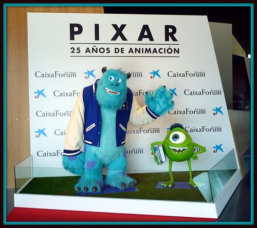 Exposición Pixar 25 años de animación - CaixaForum - AtmósferaCine