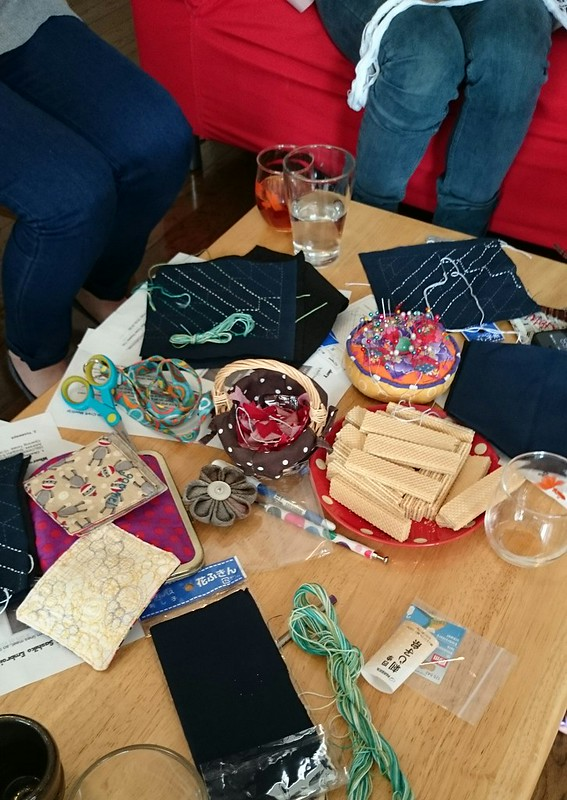 first sashiko workshop