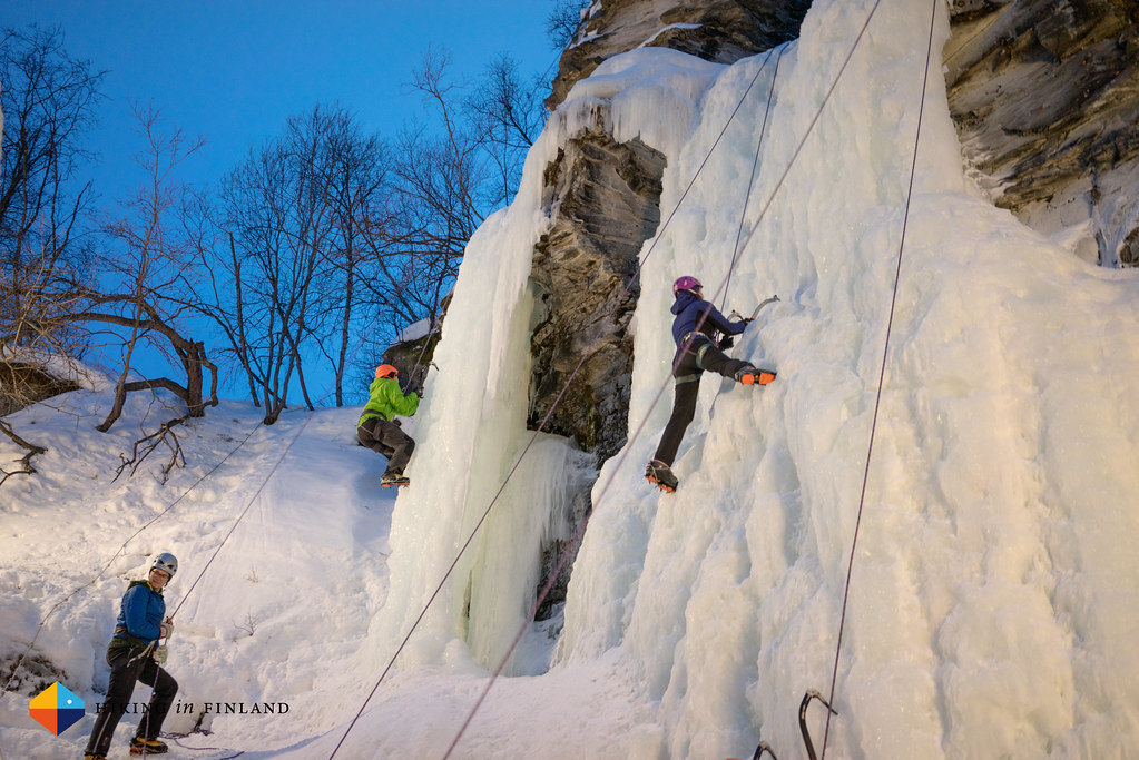Sony A7R - Ice climbing