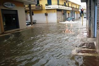 Noicattaro. Allagamenti 7 Ottobre 2014 front