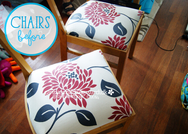 Chairs makeover - before