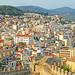 Macedonia, Kavala city view with Kamares aqueduct, Greece by Macedonia Travel & News