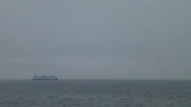 Alki Beach in the Fog