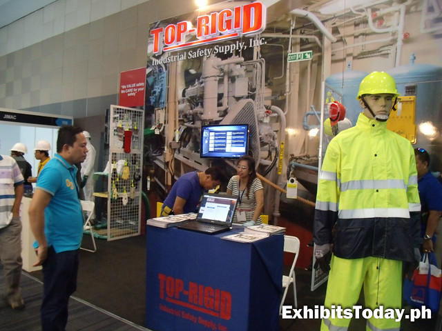 Top-Rigid Exhibit Stand