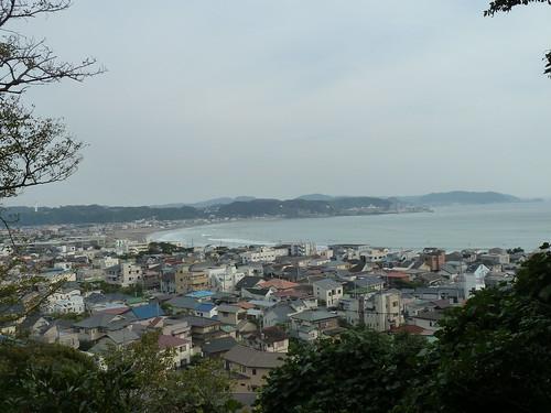 眺望散策路を登った先の風景