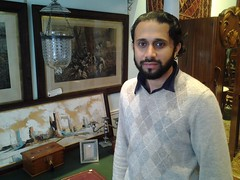 Salman Ansari, Proprietor of Verandah Antiques on South Granville