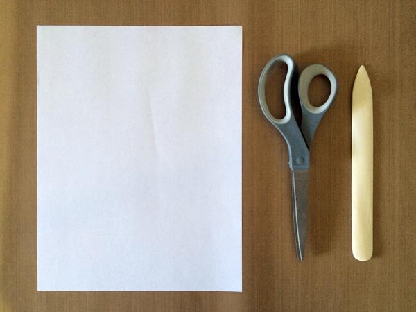 One-Sheet Mini-Zine Supplies