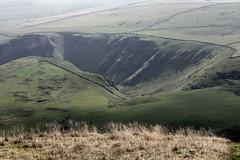 Peak District - Sept 2014 - Winnats Pass from Mam Tor