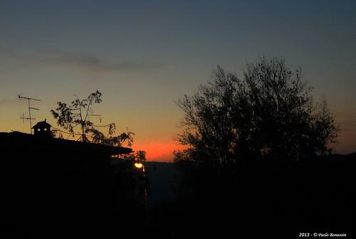 sky italy sunrise alba cielo friuliveneziagiulia poffabro borghipiùbelliditalia