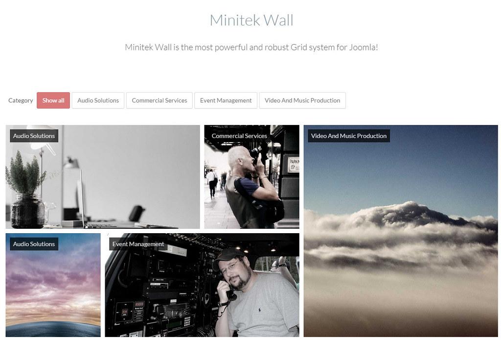 Minitek Wall