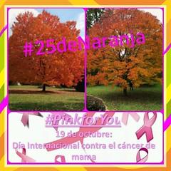 #25deNaranja promueve #PinkforYou actividad de reflexión que apoya la lucha contra el cáncer de mama. #Sonora #AprenderconEfemérides #Aprendiendo