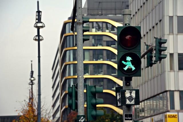 Viikonloppu Berliinissä - Berliinin liikennevalot