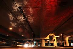 I-93 Viaduct Halloween Light Art 2, October 20, 2014