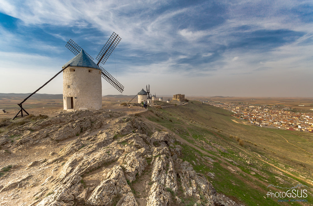 The land of Don Quixote - La Mancha - Spain