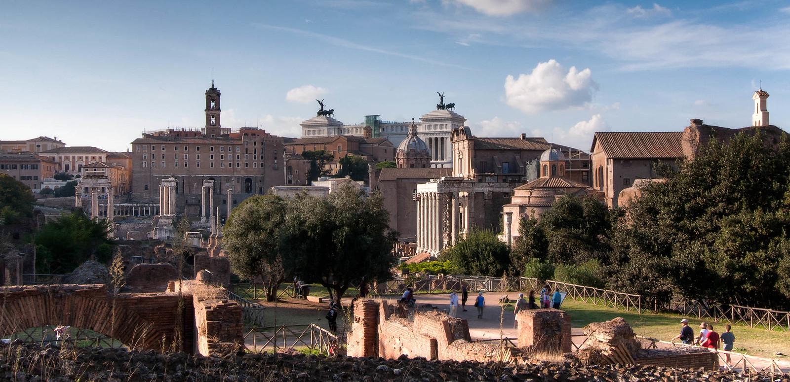 Vista del Foro Romano
