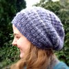 Basketweave Reversible Hat 7