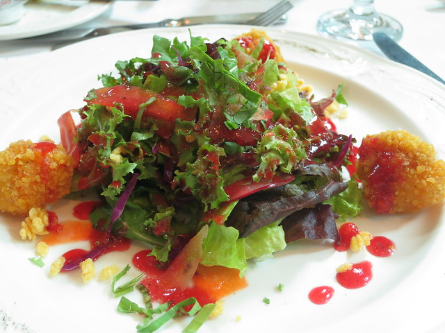 IMG_2153:  Salad with Vinaigrette Dressing at Chef Jessie