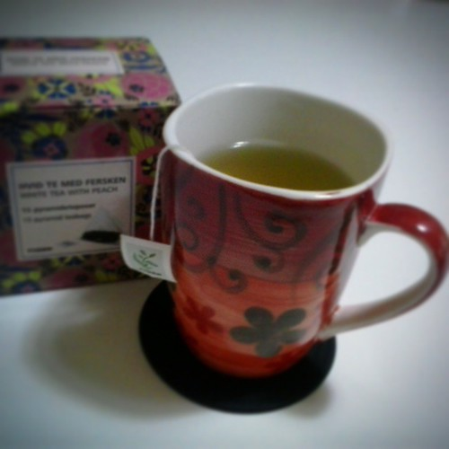 White Tea with Peach
