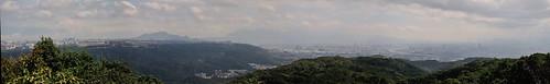 大棟山全景照-台北方向