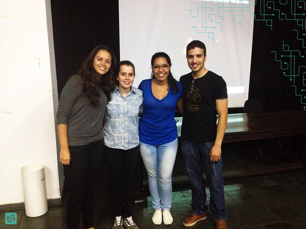4º Encontro 'Com Legenda' - Thalita, Letícia, Giselle e Lucas