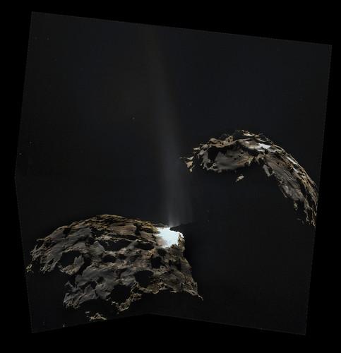 ESA Rosetta: 67P 16 settembre da 26,3 chilometri