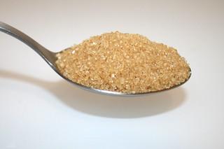 06 - Zutat brauner Zucker / Ingredient brown sugar