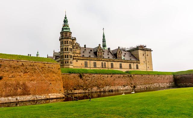 Hanlet's Castle (Kronborg Slot), Helsingborg, Denmark