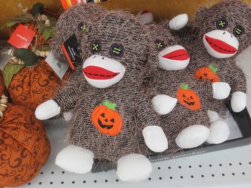 Shaggy sock monkey