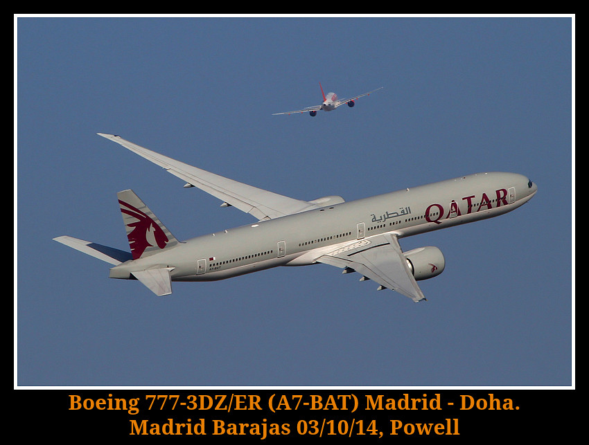 A7-BAT - B77W - Qatar Airways