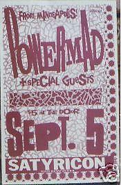 09/05/89 Powermad @ Satyricon, Portland, OR