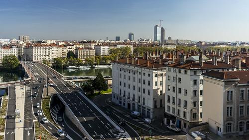 Lyon depuis la Croix-Rousse