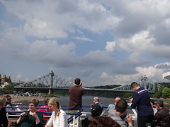 Dresden Boat ride on the Elbe
