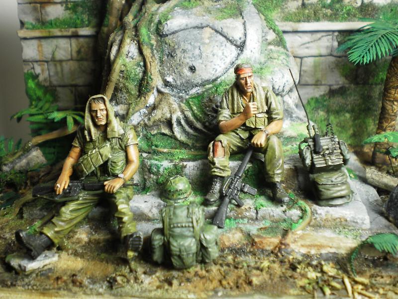 Marines Vietnam 1/35eme EVOLUTION MINIATURE 15443369542_05b45e1054_c